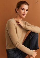 Woman pure cashmere Sweater , jumper size M UK 10 new,mango RRP 100£,.,.