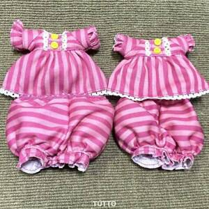 2 Suits Of  Pajamas Outfits Fits Lalaloopsy Doll 12'' Size Doll Fashion Clothes