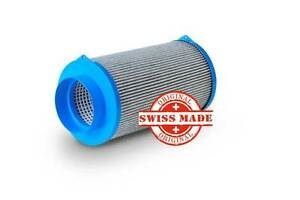 CarbonActive HL 400Z 125 Carbon Active Aktivkohlefilter 400m³/h 125mm AKF