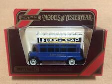 Matchbox Models of Yesteryear Y23 1922 AEC Omnibus Lifebuoy Soap 1/72 1st Issue