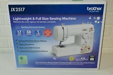 Brother JX2517 sewing machine Factory refurbished never opened full warranty