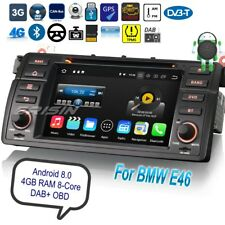 E46 Android 8.0 BMW Autoradio MG ZT Rover 75 3 Series M3 DAB+ GPS DVR TPMS 8846F