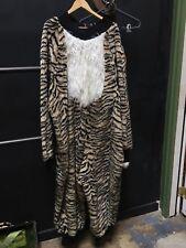 Tiger Costume One Piece Furry Jumpsuit