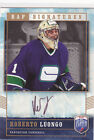 2006 06-07 Be A Player Signatures #RL Roberto Luongo autograph Vancouver Canucks