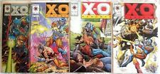 "4 DIFFERENT ""X-O MANOWAR"" COMIC BOOKS>COLL. QUALITY **FREE U.S. SHIPPING**"