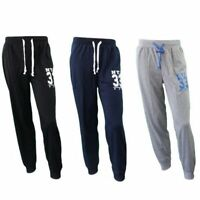 Mens Track Pants Skinny Cuff Trousers Harem Sports Casual  Elastic Waist