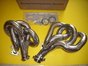 Mercedes Benz W 210 E 280 M 104 E 28 Motor Edelstahl Fächerkrümmer New Germany