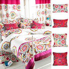 Embroidered Vintage/Retro 100% Cotton Decorative Cushions