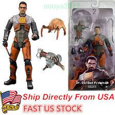"NECA Half-Life 2 Videogame Dr Gordon Freeman gravity Weapon Model 7"" Figure USA"