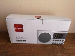 Used Sangean WFR-28C Internet Radio, FM-RDS, DAB+ Network Music Player