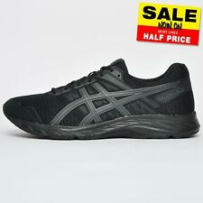 Asics Gel Contend 5 Men's Running Shoes Gym Trainers Black UK 8 Only