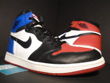 NIKE AIR JORDAN I RETRO 1 HIGH OG TOP 3 BLACK TOE BRED RED WHITE ROYAL BLUE 12