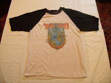 "The Who ORIGINAL Vintage ""North American Tour 1979"" Concert Shirt Pamco Medium"