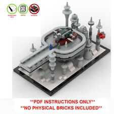 Lego Star Wars Custom Betrayal on Cloud City Micro MOC - PDF INSTRUCTIONS ONLY