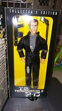 "1997 Kenner T2 Terminator 2 3-D T-800  12"" Action figure Star Wars gi joe"
