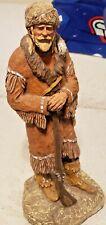 "Daniel Monfort Frontier Mountain Man Hydrostone Sculpture 15.5"" Figurine"
