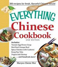 THE EVERYTHING CHINESE COOKBOOK (97814405681 - MANYEE ELAINE MAR (PAPERBACK) NEW