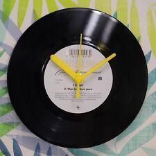 "Erasure 'Stop/The Hardest Part' Retro Chic 7"" Vinyl Record Wall Clock"