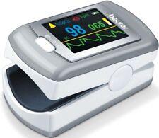 4 Stück Beurer Pulsoximeter PO 80 weiß Blutdruckmessgeräte 454.40 Pulsoximeter