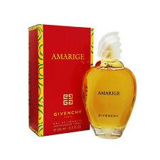 * AMARIGE * GIVENCHY 3.4 edt Women Eau de Toilette Perfume 3.3 oz New In Box