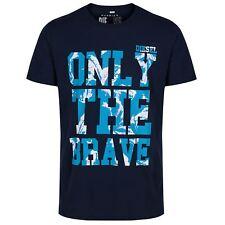 DIESEL T-burt Blue T-shirt 81e S