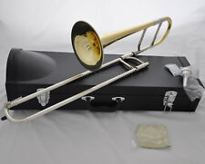 High quality JINBAO Eb Gold Alto Trombone Junior Brass horn with leather case
