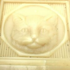French 1950s Le Chat / The Cat Large Soap~Made In Marseille France~New/Old Stock