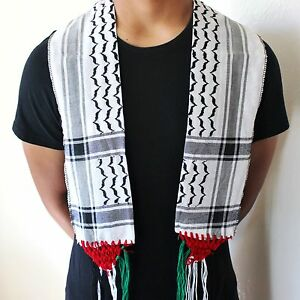 Palestine Flag Scarf / Neck Scarf / Shemagh / Keffiyeh