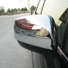Fit For 12-15 Subaru XV Impreza Chrome Side Mirror Cover Trim Molding Cap
