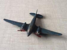 """Dinky Diecast aviones. """"Airspeed enviado' . Meccano, Ltd. Liverpool."""