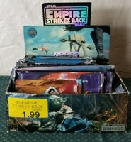Star Wars The Empire Strikes Back Trading Cards Box and More Lot