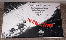 MEN IN WAR original 1957 KOREAN WAR movie pressbook ROBERT RYAN/ALDO RAY