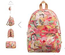 NWT OILILY FOLDING BACKPACK CANDY PINKS