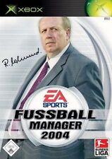 XBOX DER FUSSBALL MANAGER 2004 ** DEUTSCH **** Neuwertig