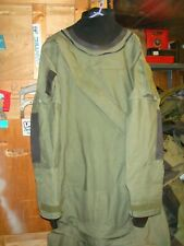 typhoon gore-tex immersion suit green gray very good condition x large
