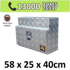 Aluminium Toolbox Storage Trailer Square Under Body Under Tray Tool Box 524S