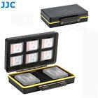 6 SD Card 2 Camera Battery Case Box fr Fujifilm X-T30 X-T20 X-T3 X-T2 X-T1 X100F