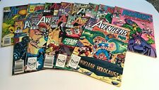 Lot of 13 Marvel Comics Avengers Comic Books Various Conditions