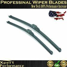 "28"" & 20"" Windshield Wiper Blades Premium OEM Quality J-Hook Blades Bracketless"