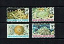 BIOT: 1972, Corals, Fine used set.