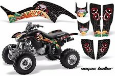 AMR Racing Honda TRX 400 EX Graphic Kit Wrap Quad Decal ATV 1999-2007 BALLER BLK