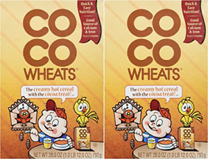 Coco Wheats Hot Cereal 2 Pack