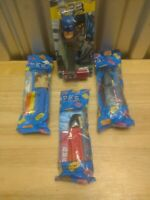 4 Sealed DC Pez Dispensers 2 Batman Two-Face Wonder Woman