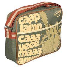 Nuevo capitán Cavernícola Dibujos animados Deportes Bolso de bolso mensajero de hombre de gran tamaño.