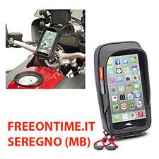 PORTA SMARTPHONE HUAWEI P8 GIVI S957B TOUCH SCREEN MANUBRIO TUBOLARE MOTO