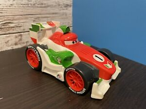 Disney Shake N Go Pixar Cars Francesco #1 2010 Mattel *Tested Works*