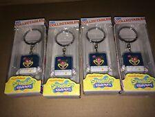 "Nickelodeon Sandy 1.5"" Vinyl Collectible Keychains Spongebob LOT OF 4"