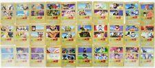 """Dragon Ball Z """"30 carte diverse n°consecutivi a caso tra 1/9 e 30/60"""" serie GOLD"""