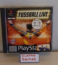 Fußball live PS1 Fun Game Playstation 1 OVP+Anleitung   B2569