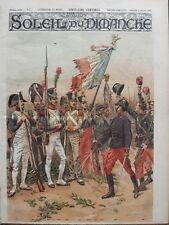 L'ILLUSTRE DU SOLEIL DU DIMANCHE 1898 N 2 LA REINE DES BATAILLES